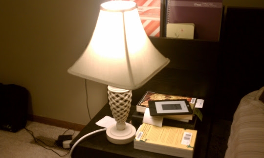 My lamp is broken, and nothing will ever be okay again